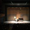 ピアノ発表会を見に行きました。